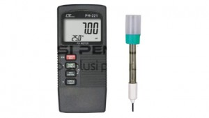 Pengukur pH Meter Portabel AMTAST PH-221